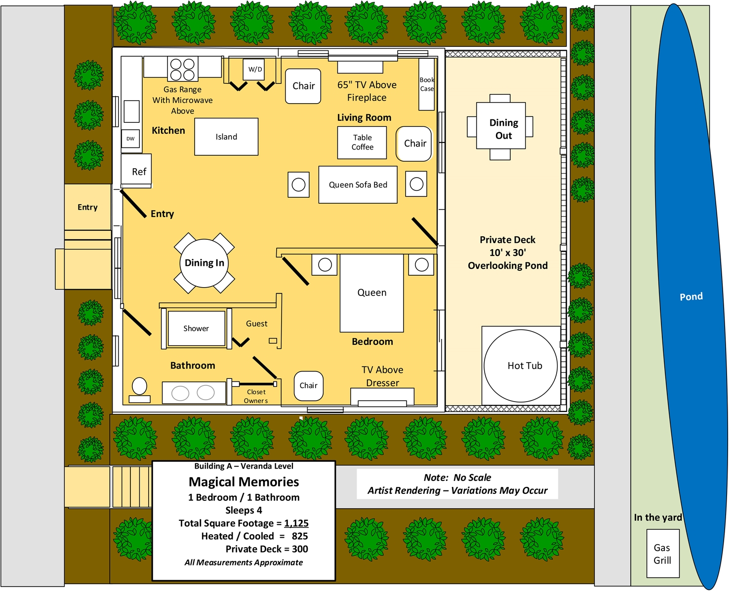 Floor Plan for Magical Memories
