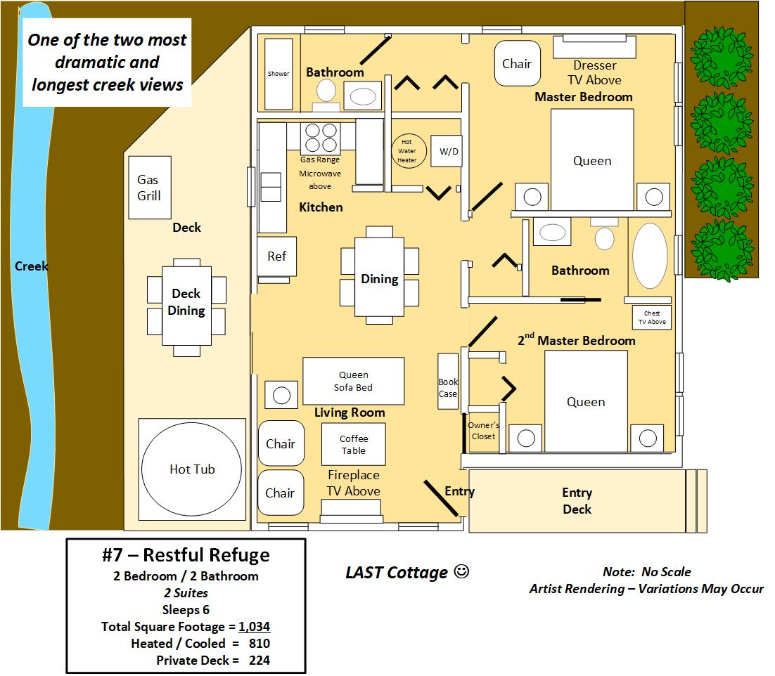 Floor Plan for Restful Refuge
